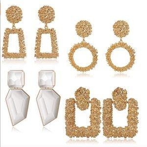 Bundle of 4 Zara earrings